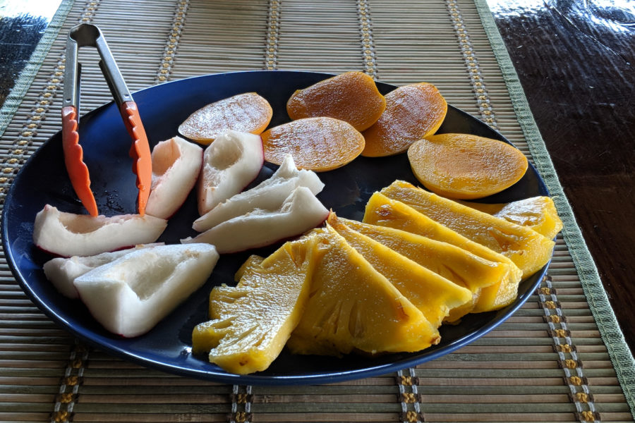 Jamaican Fruit Plate